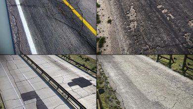 جاده و اتوبان تری دی مکس TurboSquid – Detailed Roads Collection