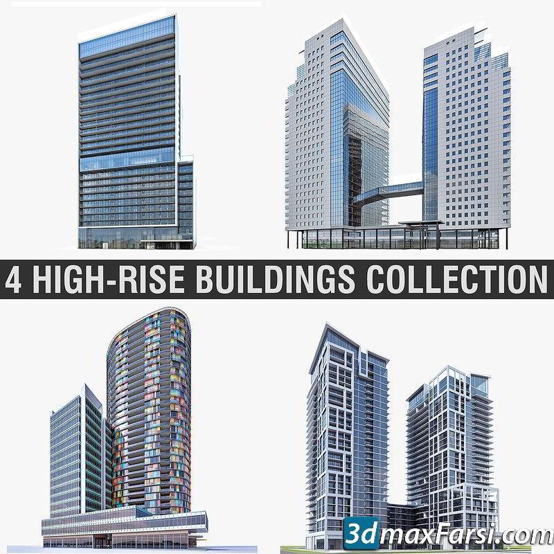 مدل ساختمان TurboSquid – Buildings 3D-Models Collection