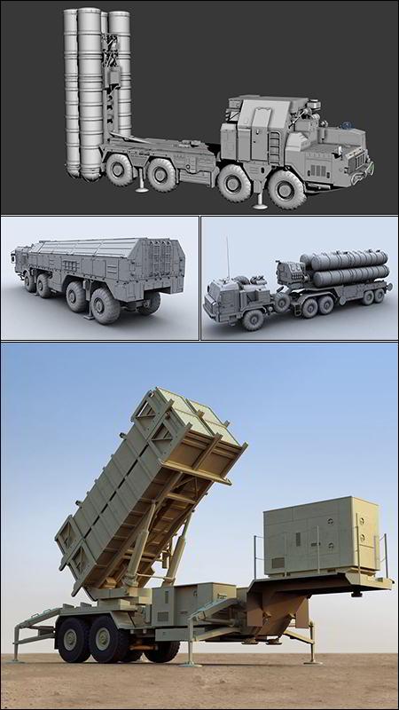 دانلود کالکشن مدل سه بعدی وسایل نقلیه نظامی TurboSquid – Military Vehicles 3D-Models Collection