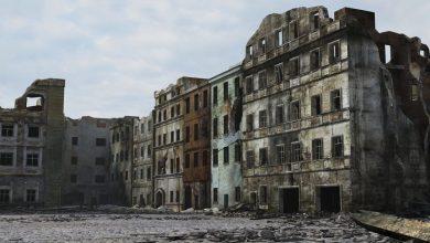 مدل سه بعدی شهر جنگ زده TurboSquid – Ruined City Warsaw WW2 1945 3D-Models