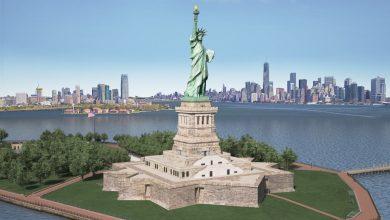 مدل سه بعدی مجسمه آزادی آمریکا TurboSquid – Statue of Liberty