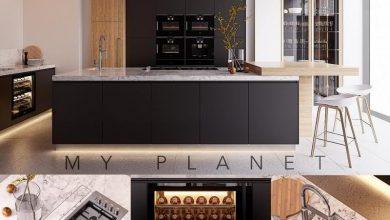 دانلود رایگان صحنه سه بعدی آشپزخانه Kitchen Poliform Varenna My Planet 4