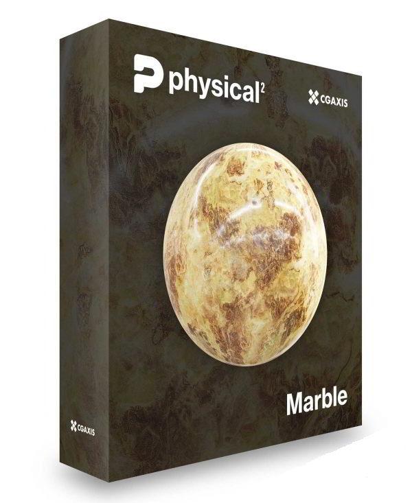 مجموعه متریال - تکسچر سنگ مرمر CGAxis – Marble PBR Textures – Collection Volume 23