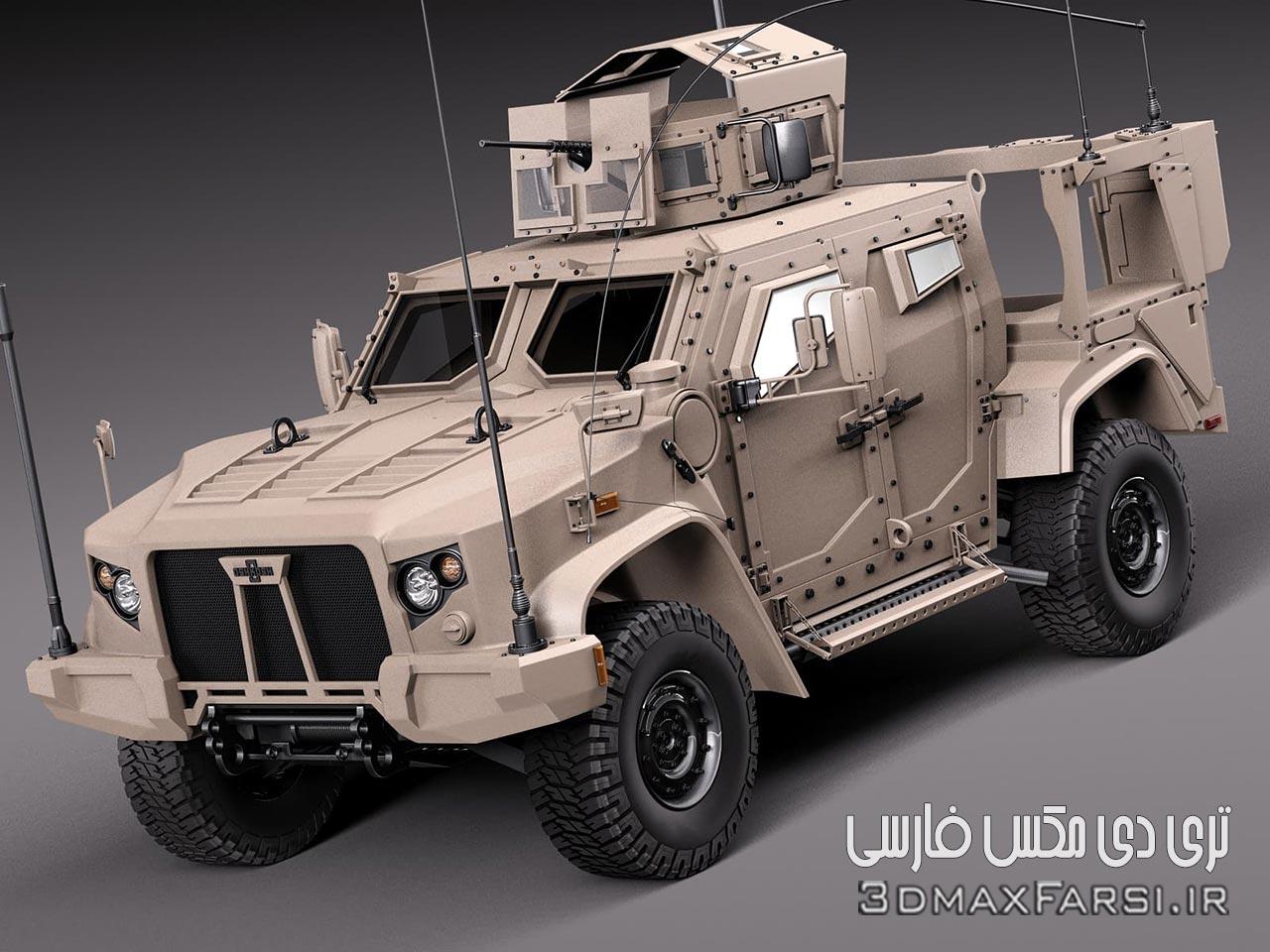 دانلود رایگان مدل سه بعدی خودرو زرهی CGTrader 3D MODELS Oshkosh JLTV
