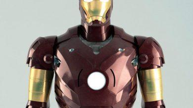 """کاراکتر انسان """"مرد آهنین"""" تری دی مکس TurboSquid Iron Man Rigged"""