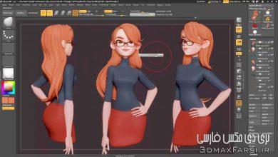 آموزش کار با ابزار Gizmo 3D در نرم افزار ZBrush
