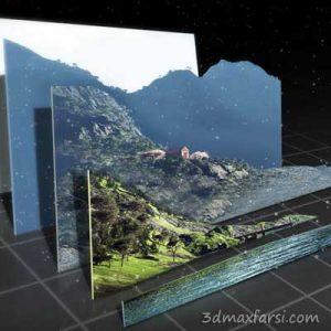 فیلم آموزش ساخت عمق 3بعدی عکس 2بعدی NUKE tutorials