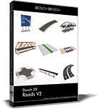 آبجکت خیابان DOSCH 3D: Roads V2 ,1