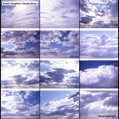 عکس آسمان ابری