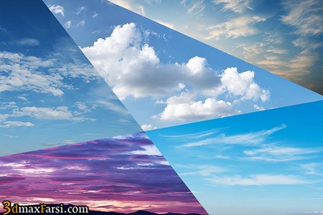 عکس آسمان 3ds max