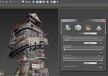 Vray 3.0 Quick Settings