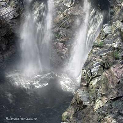 آموزش ساخت آب، آبشار مایعات RealFlow - Maya آموزش ساخت آب، آبشار مایعات RealFlow - Maya