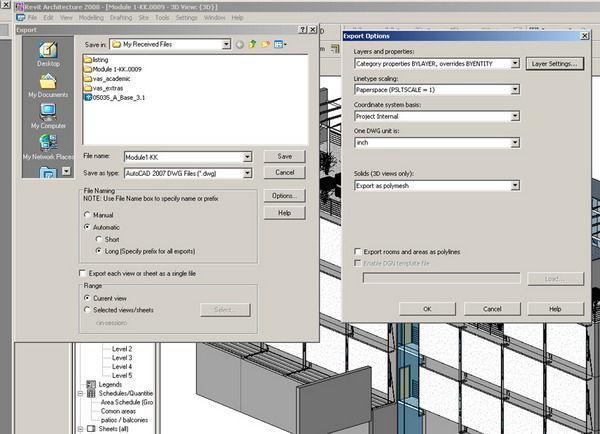 آموزش import کردن فایل Revit در تری دی مکس imprort