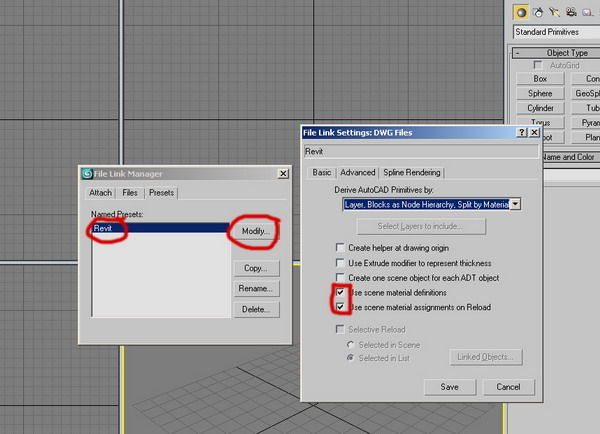 import Linking Manager